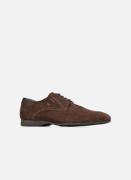 Zapatos con cordones Fluchos Ezzio 9353 Marrón vistra trasera