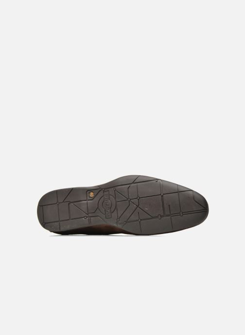 Zapatos con cordones Fluchos Ezzio 9353 Marrón vista de arriba