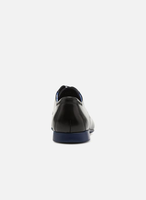 Scarpe con lacci Fluchos Ezzio 9353 Nero immagine destra