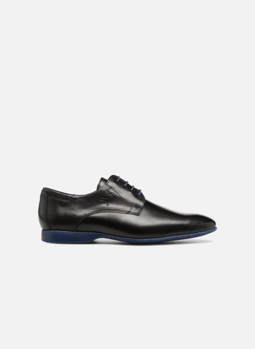 Zapatos con cordones Fluchos Ezzio 9353 Negro vistra trasera
