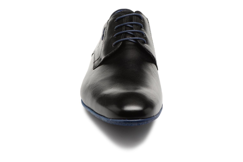 Zapatos con cordones Fluchos Ezzio 9353 Negro vista del modelo