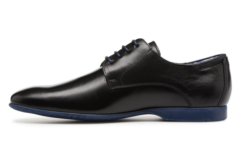 Zapatos con cordones Fluchos Ezzio 9353 Negro vista de frente