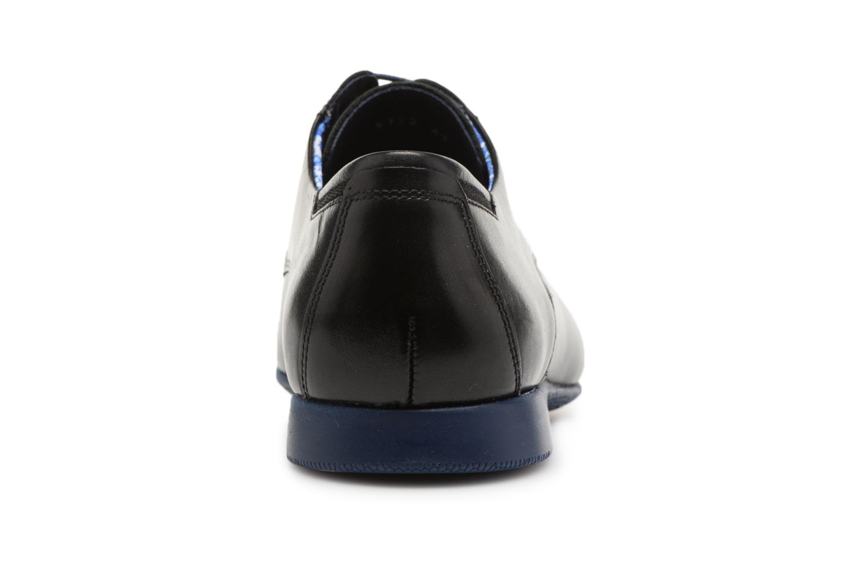 Zapatos con cordones Fluchos Ezzio 9353 Negro vista lateral derecha