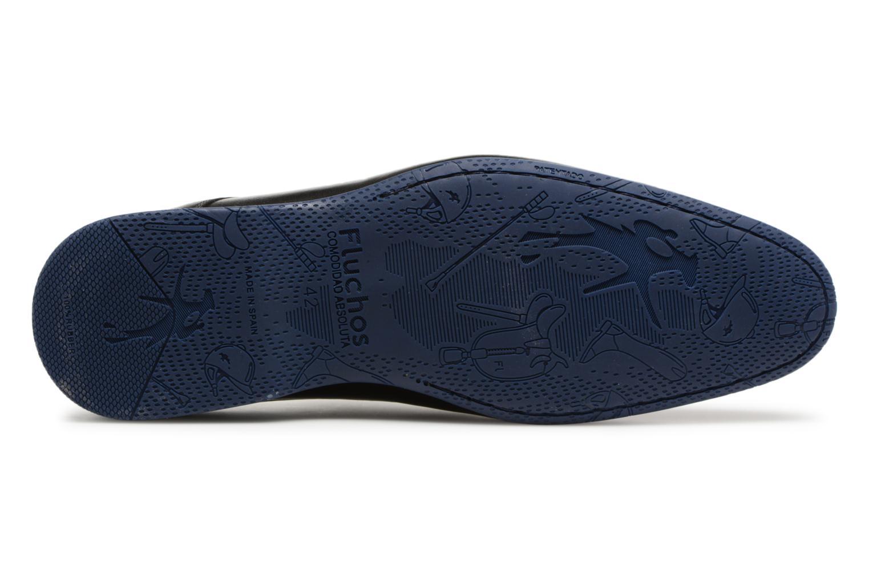 Zapatos con cordones Fluchos Ezzio 9353 Negro vista de arriba