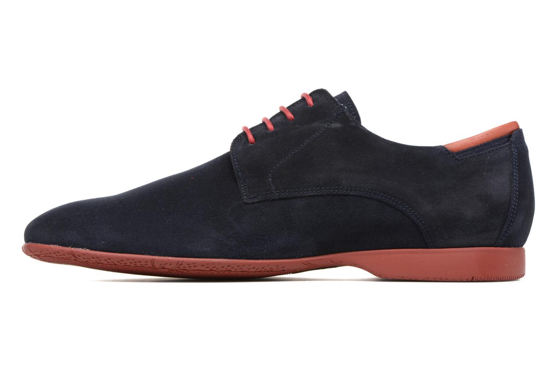 Zapatos con cordones Fluchos Ezzio 9353 Azul vista de frente