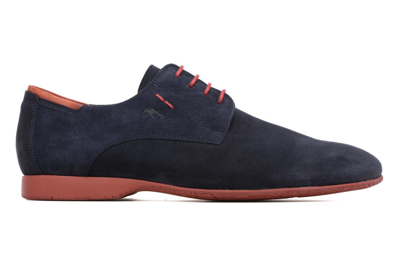 Zapatos con cordones Fluchos Ezzio 9353 Azul vistra trasera
