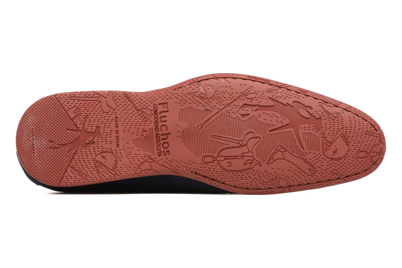 Zapatos con cordones Fluchos Ezzio 9353 Azul vista de arriba