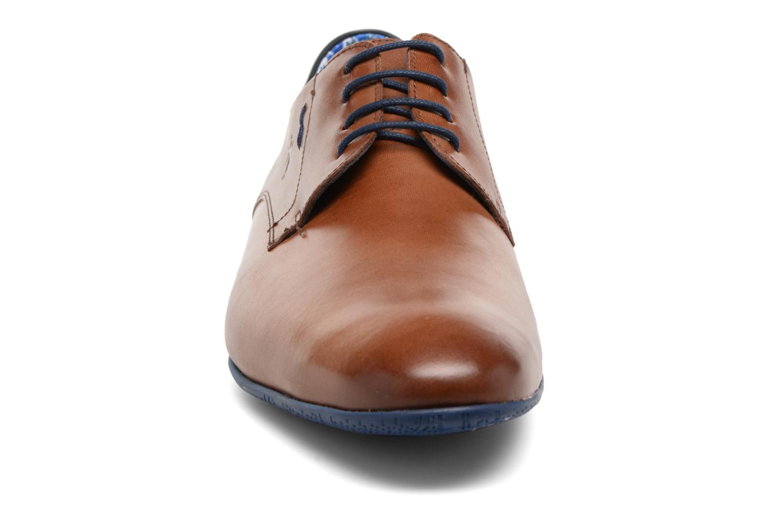 Lace-up shoes Fluchos Ezzio 9353 Brown model view