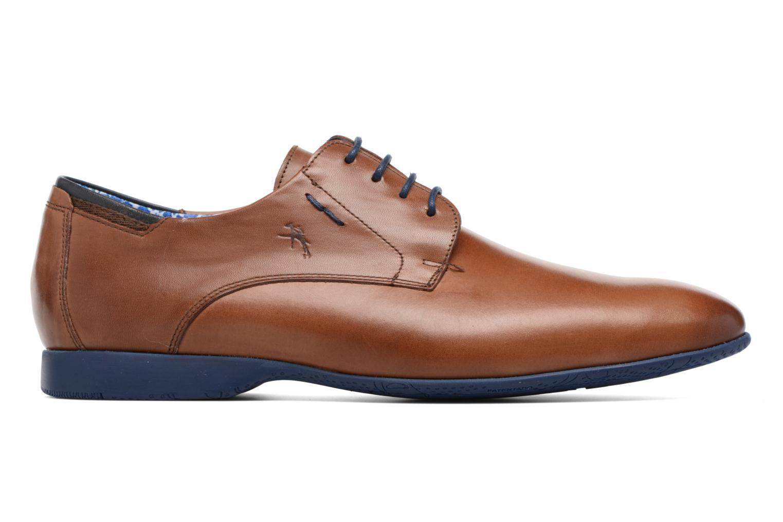 Lace-up shoes Fluchos Ezzio 9353 Brown back view