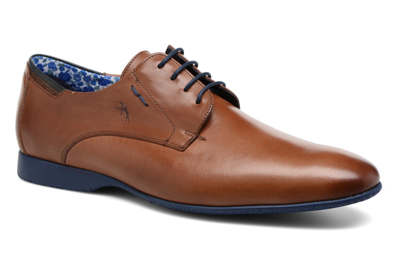 Lace-up shoes Fluchos Ezzio 9353 Brown detailed view/ Pair view