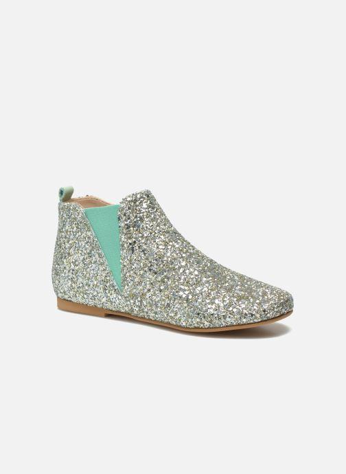 Bottines et boots Manuela de Juan Eloise Argent vue détail/paire