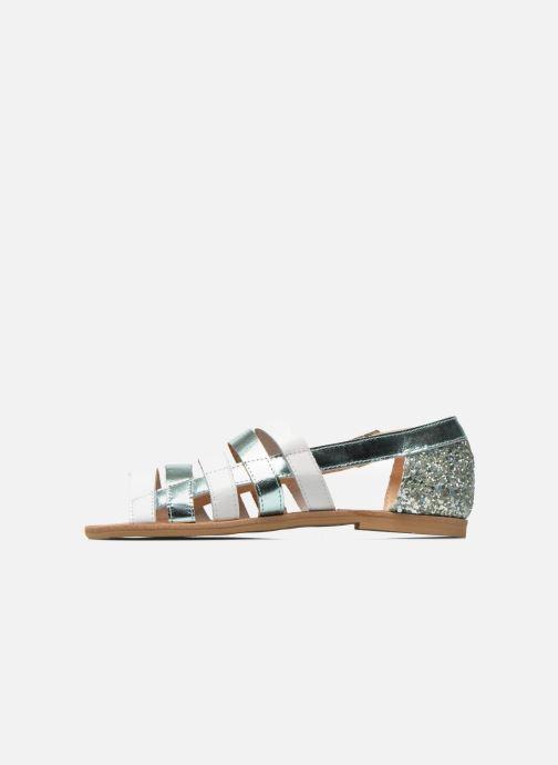 Sandali e scarpe aperte Manuela de Juan Irina Azzurro immagine frontale