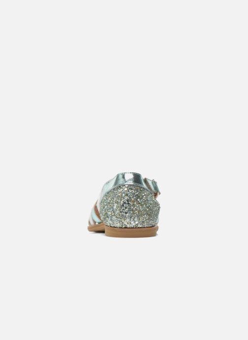Sandali e scarpe aperte Manuela de Juan Irina Azzurro immagine destra