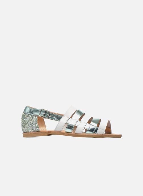 Sandali e scarpe aperte Manuela de Juan Irina Azzurro immagine posteriore