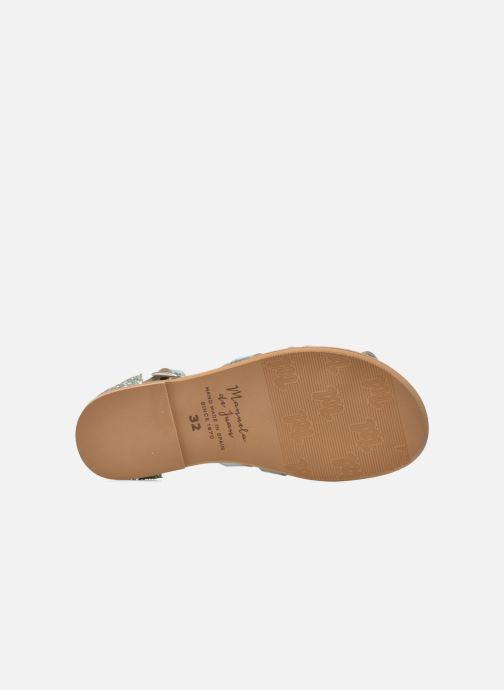 Sandales et nu-pieds Manuela de Juan Irina Bleu vue haut