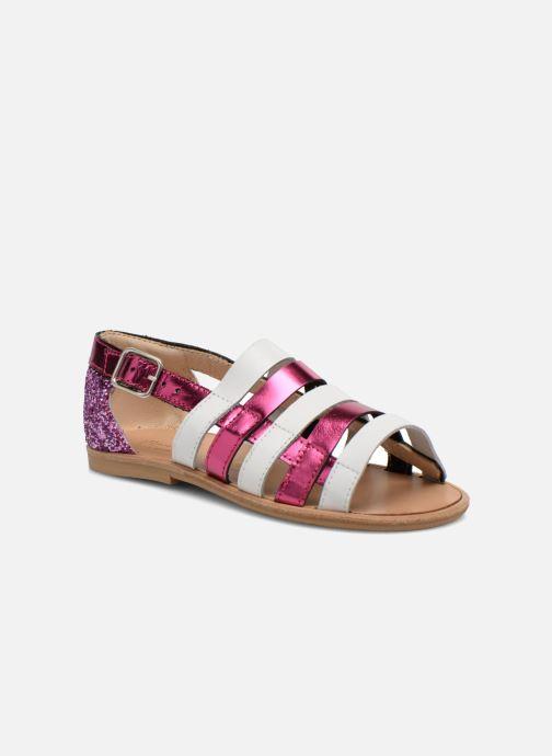 Sandales et nu-pieds Manuela de Juan Irina Rose vue détail/paire