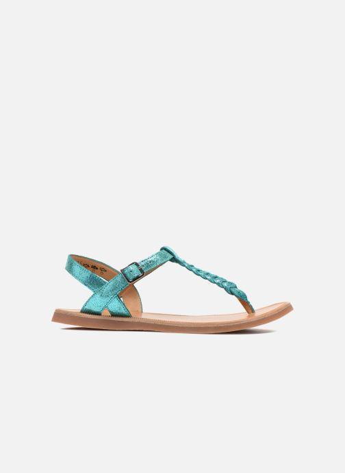 Sandales et nu-pieds Pom d Api Plagette Antic Tong Bleu vue derrière