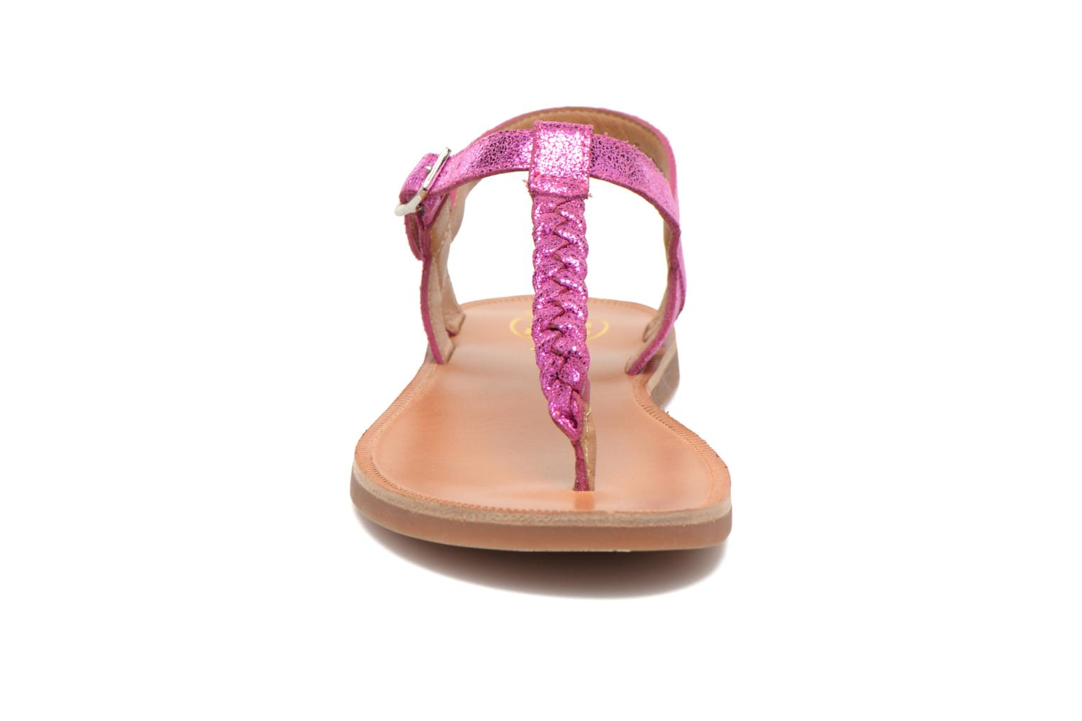 Sandals Pom d Api Plagette Antic Tong Pink model view