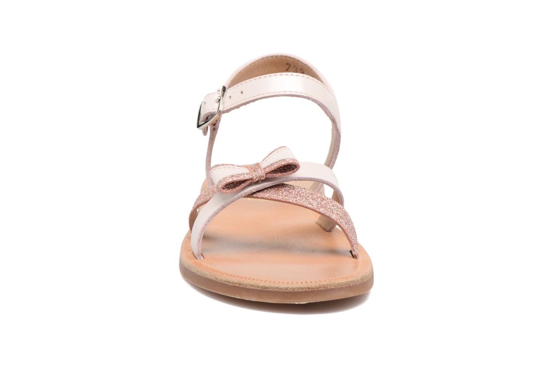 Sandals Pom d Api Plagette New Knot Pink model view