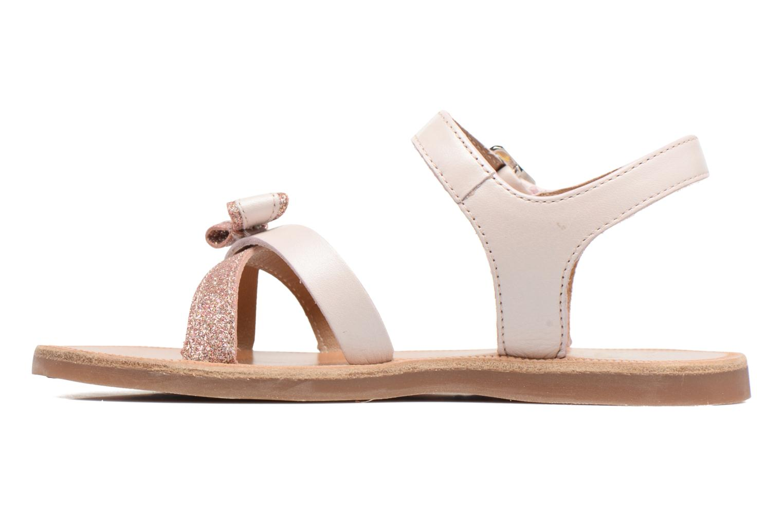 Sandals Pom d Api Plagette New Knot Pink front view