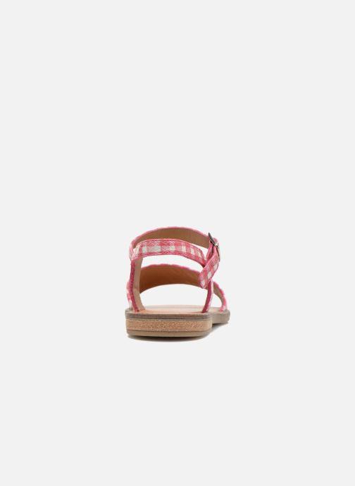 Sandali e scarpe aperte Pom d Api Nikky Sandal Eyeliner Rosa immagine destra
