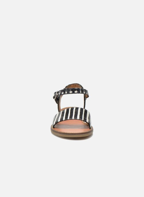 Sandalen Pom d Api Nikky Sandal Eyeliner schwarz schuhe getragen
