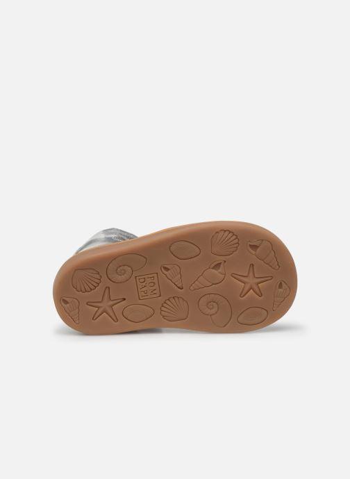 Sandalen Pom d Api Poppy Tresse silber ansicht von oben