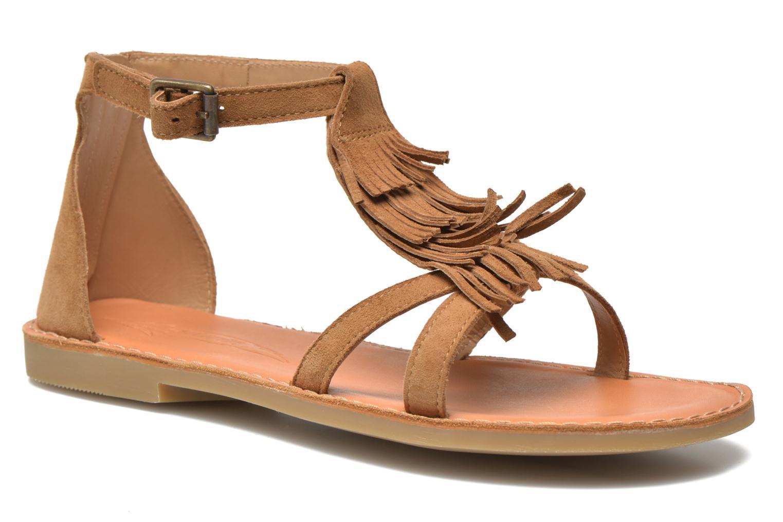 Sandali e scarpe aperte Shwik Lazar Fringe Suede Marrone vedi dettaglio/paio
