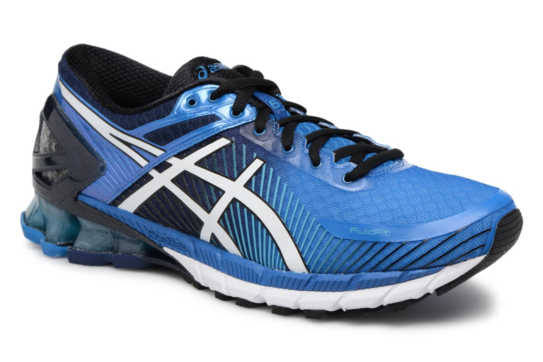 Chaussures de sport Asics Gel-Kinsei 6 Bleu vue détail/paire