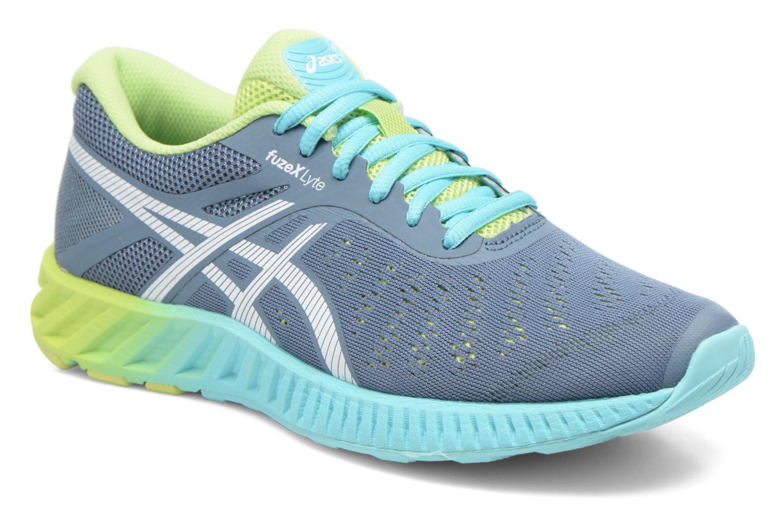 Chaussures de sport Asics Fuzex Lyte Multicolore vue détail/paire