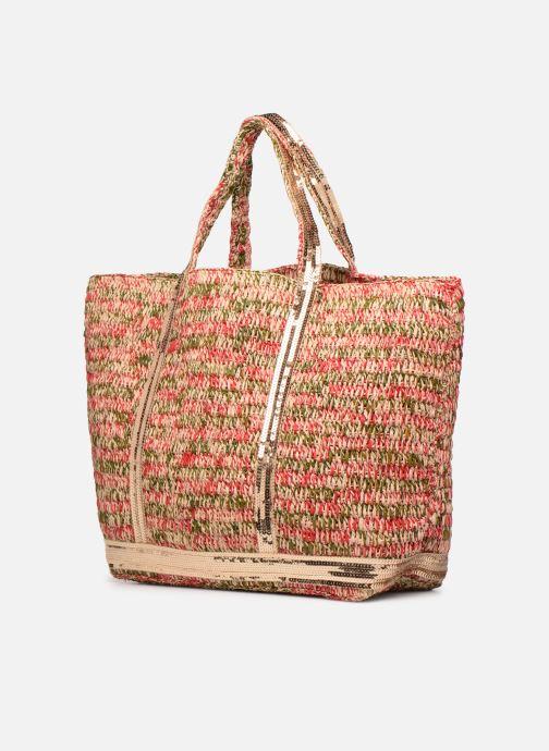 Handtaschen Vanessa Bruno Cabas M+ rot ansicht von rechts