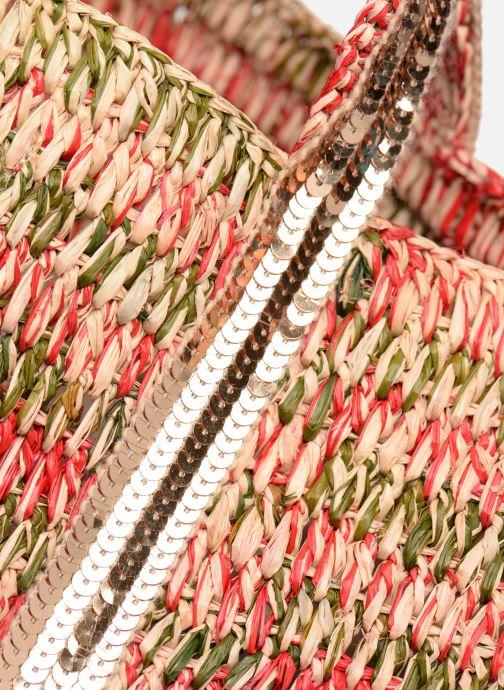 Handtaschen Vanessa Bruno Cabas M+ rot ansicht von links