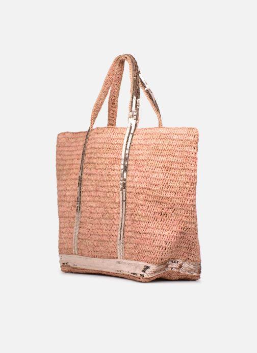 Handväskor Vanessa Bruno Cabas M+ Rosa bild av skorna på