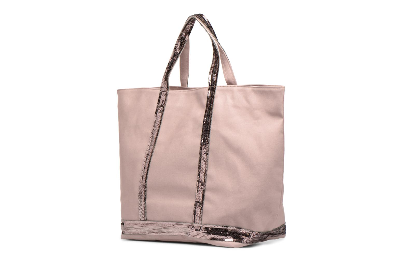 Handbags Vanessa Bruno Cabas M+ Pink model view