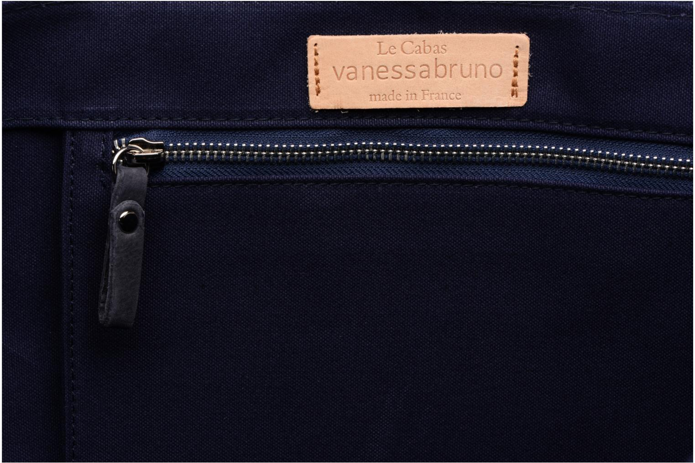 Handbags Vanessa Bruno Cabas M+ Blue back view