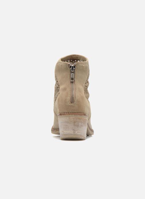 Boots en enkellaarsjes Khrio Aeligana Beige rechts