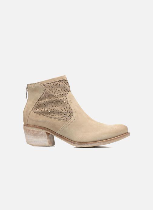 Boots en enkellaarsjes Khrio Aeligana Beige achterkant