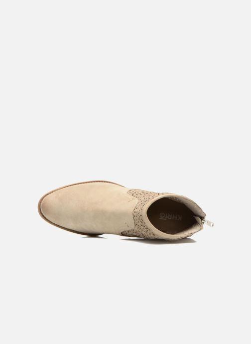 Boots en enkellaarsjes Khrio Aeligana Beige links