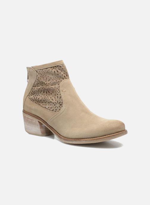 Boots en enkellaarsjes Khrio Aeligana Beige detail