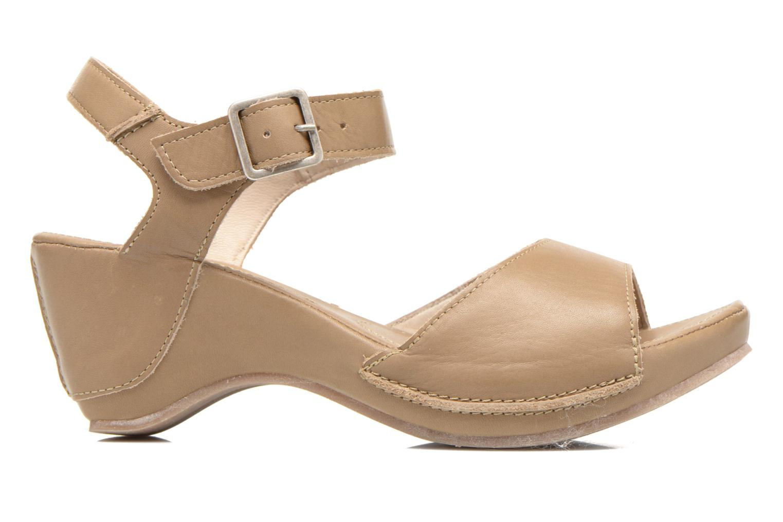 Sandales et nu-pieds Khrio Nuova Beige vue derrière