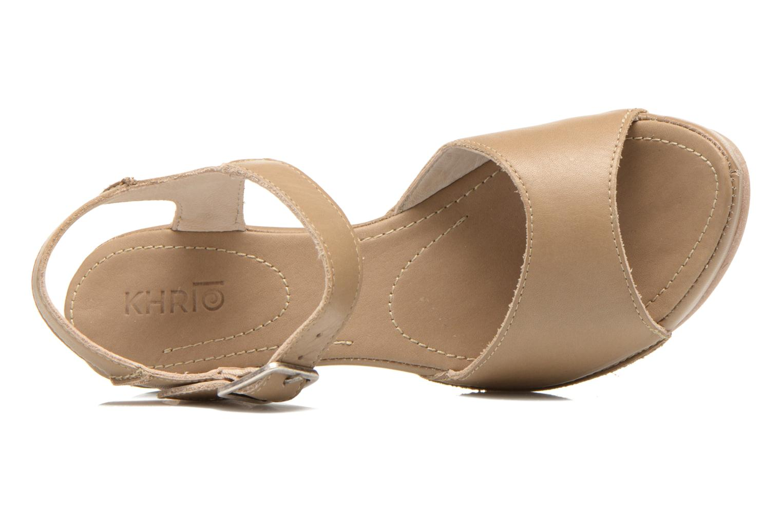 Sandals Khrio Nuova Beige view from the left