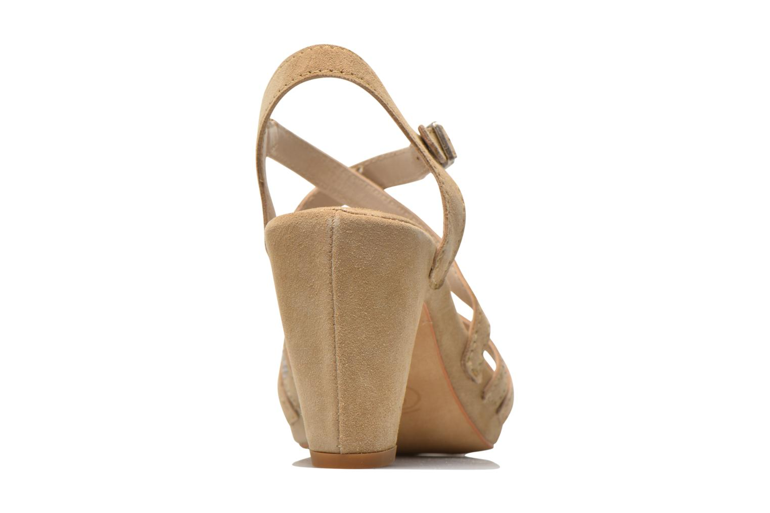 Sandals Khrio Romina Beige view from the right