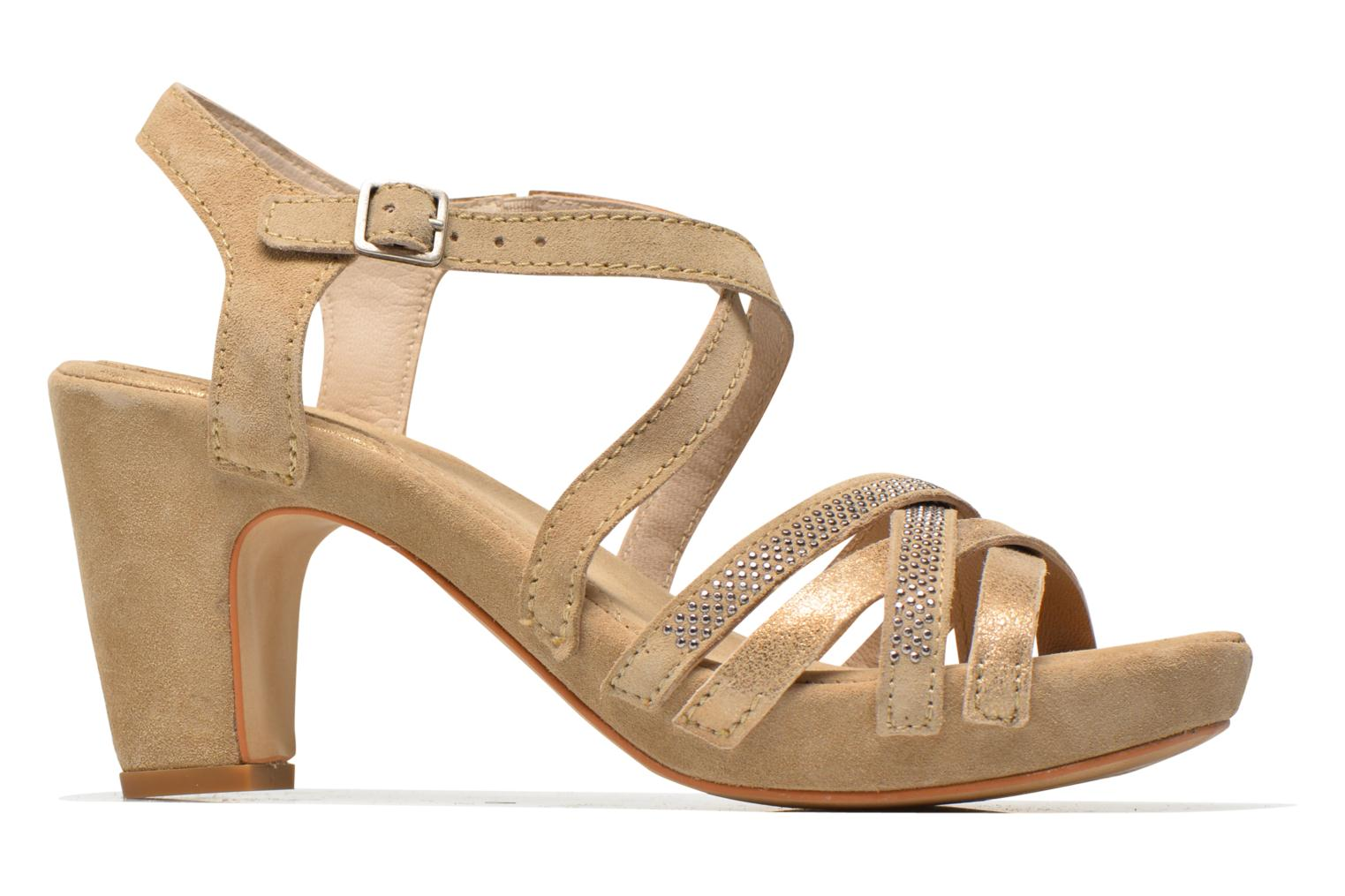 Sandals Khrio Romina Beige back view