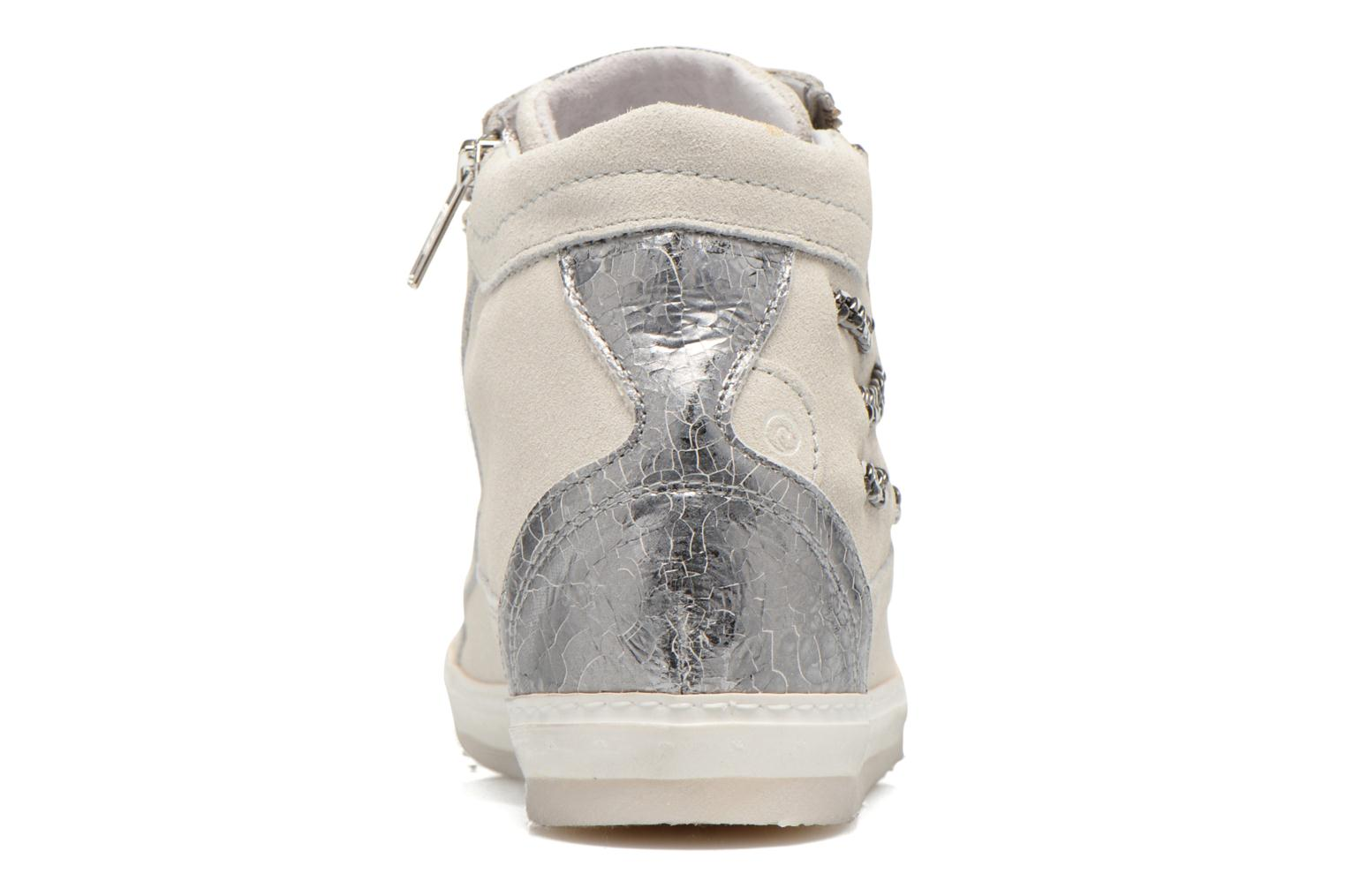 Trainers Khrio Klerviena Silver view from the right