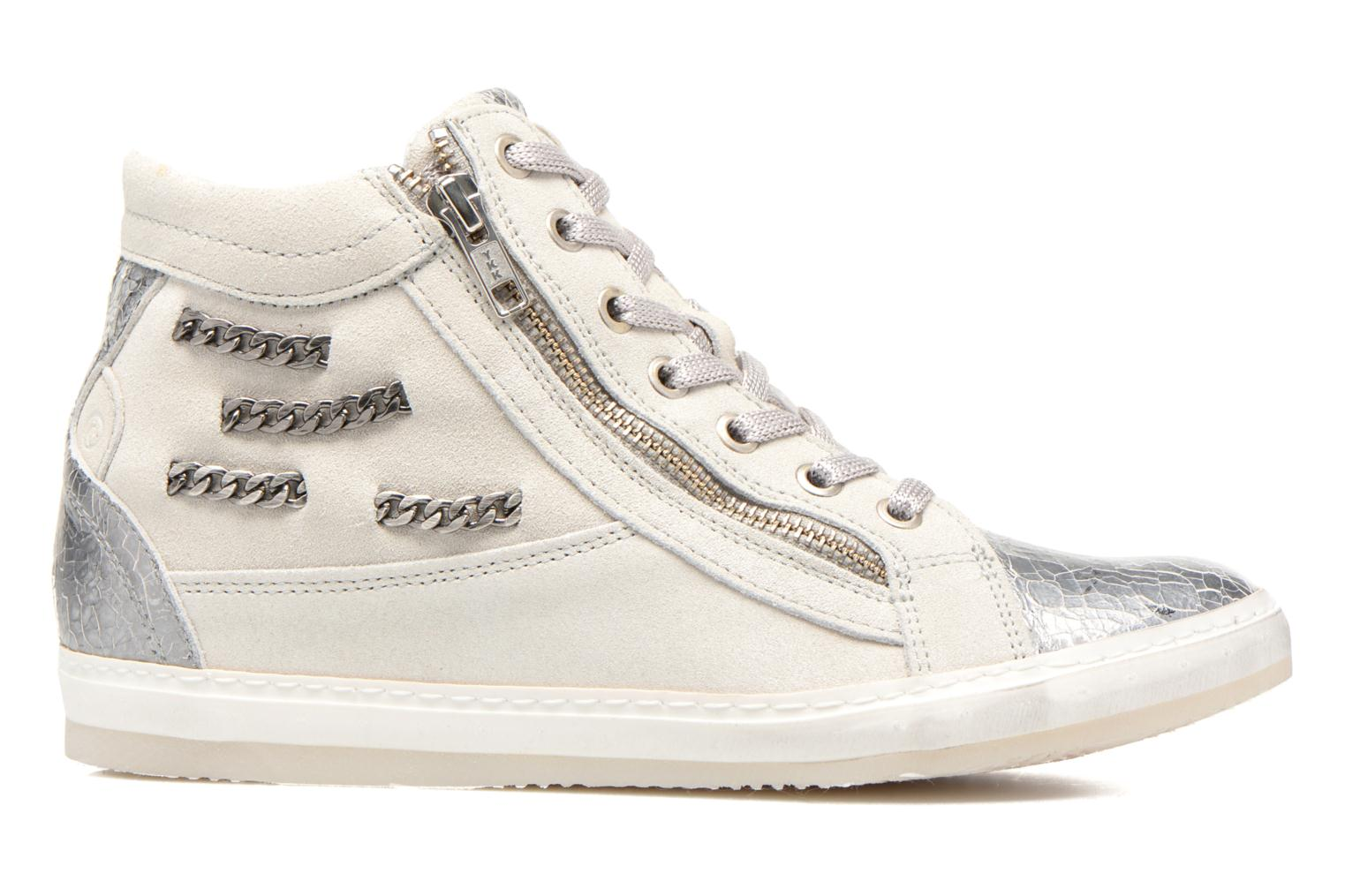 Trainers Khrio Klerviena Silver back view