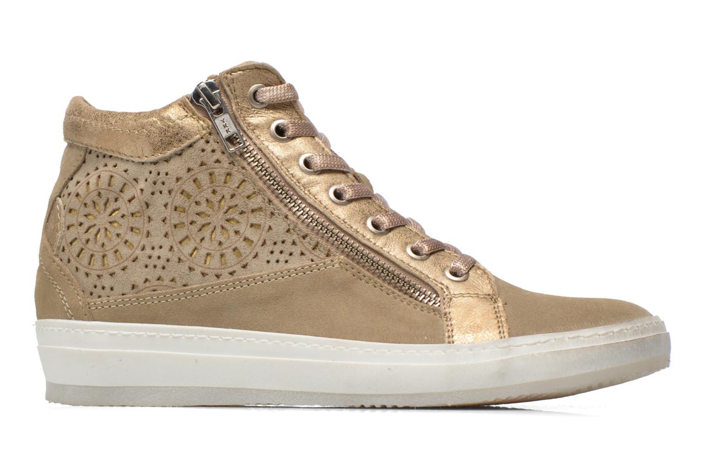 Sneakers Khrio Maiana Beige achterkant