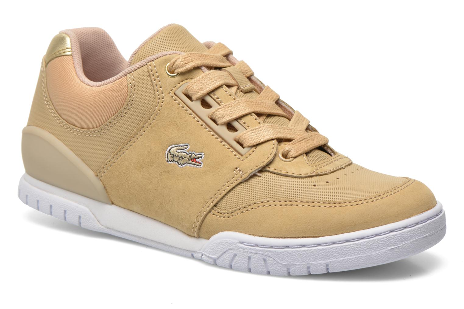 Trainers Lacoste Indiana 116 G2 Beige detailed view/ Pair view