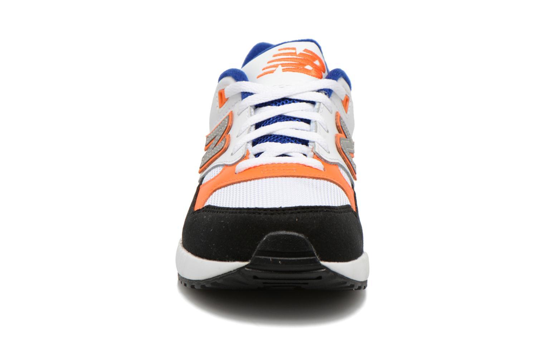 Baskets New Balance KL530 J Blanc vue portées chaussures