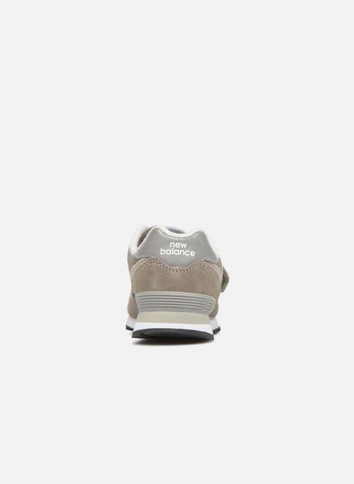 Sneaker New Balance KV574 J grau ansicht von rechts