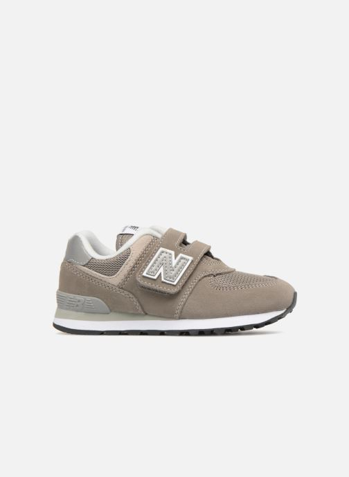 Sneaker New Balance KV574 J grau ansicht von hinten